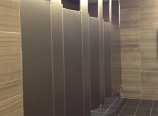 Fascinating Bathroom Partition Gap Filler Decorating Design Of - Bathroom privacy partitions