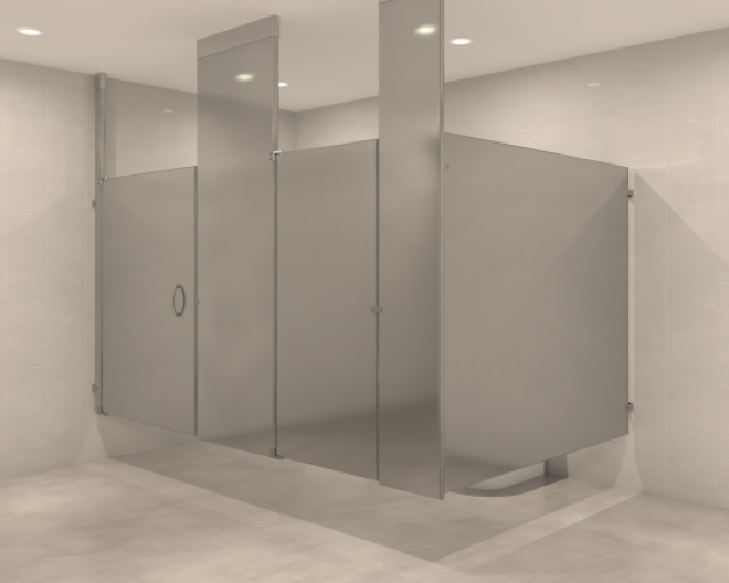 Bathroom Partitions Manufacturers hadrian floor mounted toilet partitions – meze blog