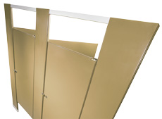 Toilet Partitions Qatar overview - hadrian manufacturing inc. toilet partitions and lockers.