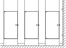 Bathroom Partitions Nyc upgrades - hadrian manufacturing inc. toilet partitions and lockers.